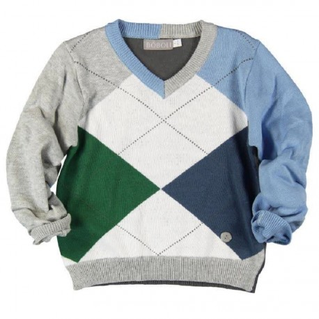 Boboli Pullover with Elbow
