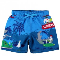 Boboli Surf Print Trunks