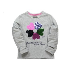 Boboli Flowers Grow Up Tee