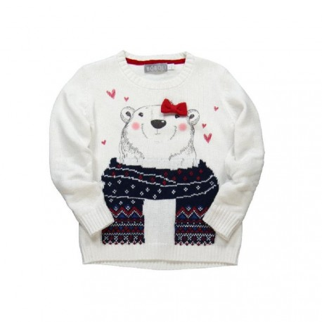 Boboli Bear Sweater