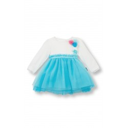 Le Top Light Blue Tulle Dress