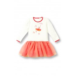 Le Top Fly Away Orange-Pink Dress