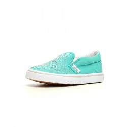 Naturino Nancy Aqua Studded Slip-On