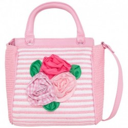 Mayoral Orchid Striped Bag