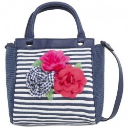 Mayoral Navy Striped Bag