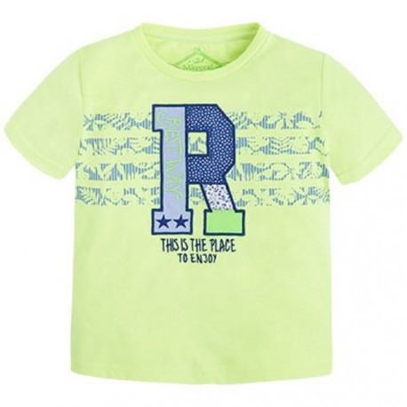 Mayoral Lime T-Shirt