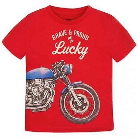 Mayoral Red Lucky Tee