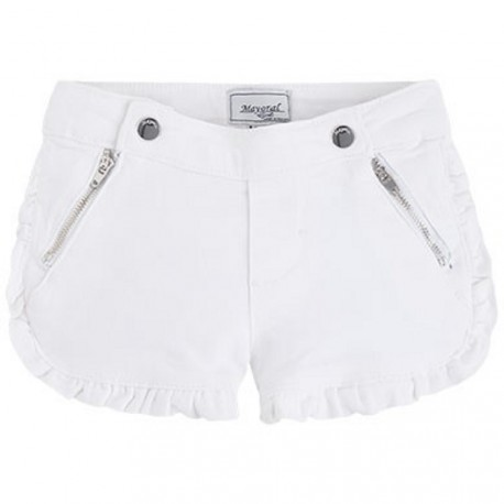 Mayoral White Shorts