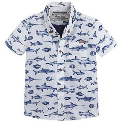 Mayoral Ocean Printed Shirt