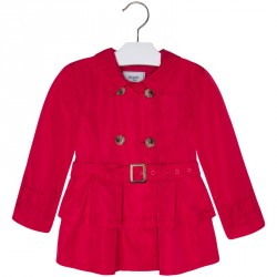 Mayoral Red Trench Coat