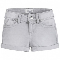 Mayoral Grey Denim Shorts