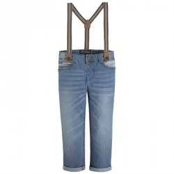 Mayoral Trousers W Suspenders