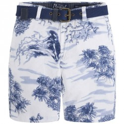 Mayoral Ocean Printed Shorts