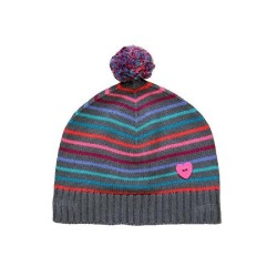 Boboli Knit Striped Hat