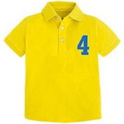 Mayoral Yellow Polo