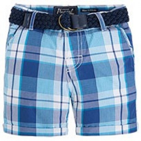 Mayoral Pacific Plaid Shorts