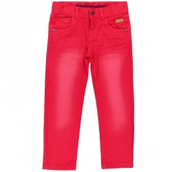 Boboli  Red Denim Bermuda