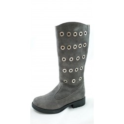 Naturino Grey Tall Boots
