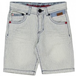 Boboli Striped Bermudas