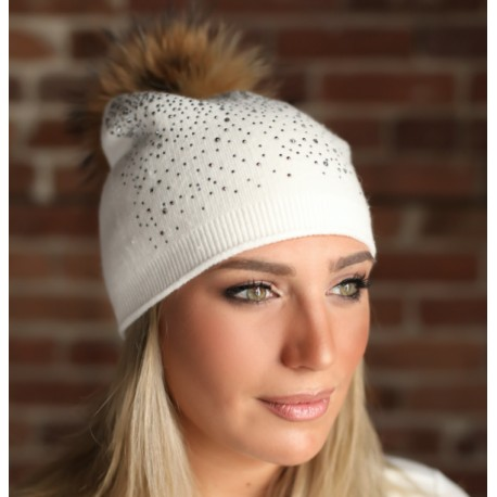 Melina's Bowtique Slouchy Crystal Hats