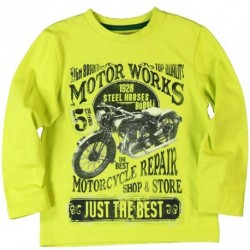 Boboli Motor Works Long Sleeve Shirt