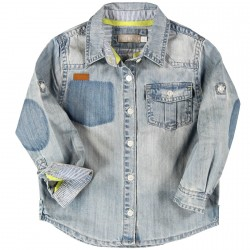 Boboli Denim Button Up
