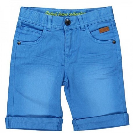 Boboli Blue Denim Bermudas